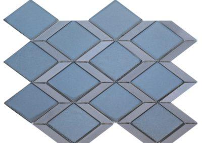 G61 Graphite Rhombus Mosaic